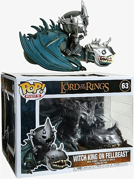 Funko POP Rides #63 Lord of the Rings Witch King on Fellbeast